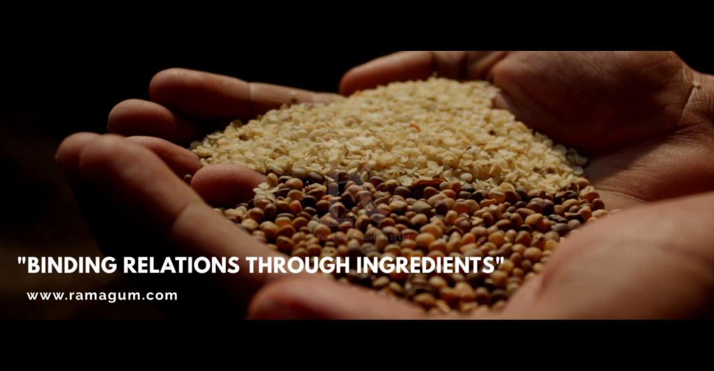organic guar seed and splits