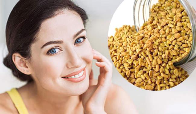Fenugreek benefits for skin